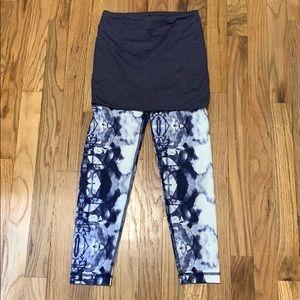 Lululemon athletica leggings and skirt